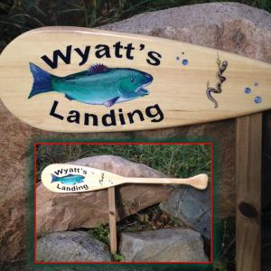 Paddle Signs for Your Garden